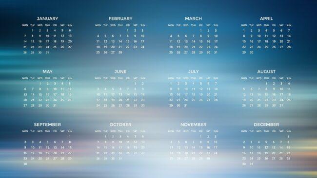agenda for year