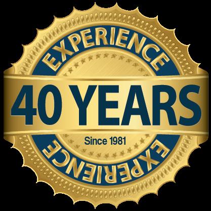40 years seal